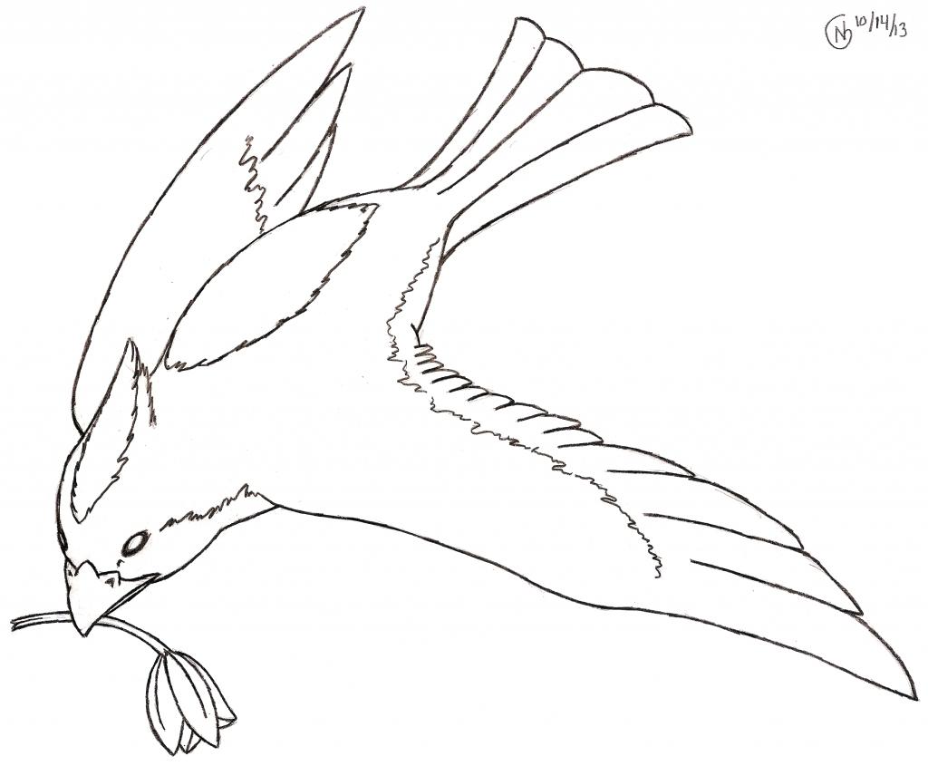 1024x845 Bird Flying Drawing Cartoon Drawings Of Birds Draw Cartoon Birds