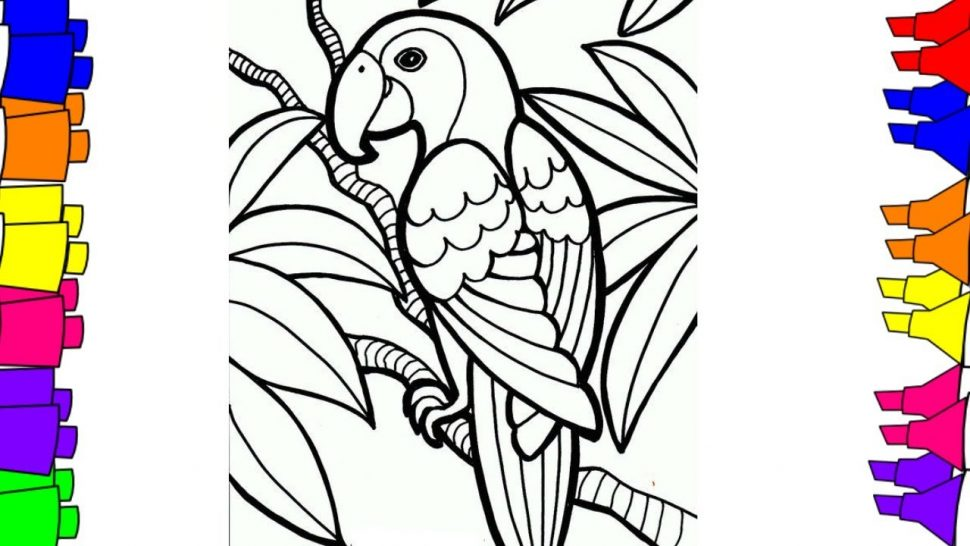 970x546 Coloring Little Birds Coloring Book Pages For Adults Wallpapers