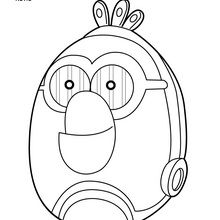 220x220 Robot Coloring Pages, Drawing For Kids, Videos For Kids, Kids