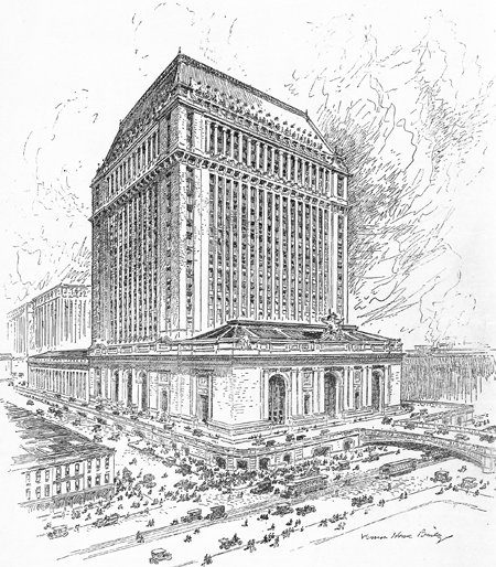 450x514 Architakes Detroit's Grand Central Michigan Central Station