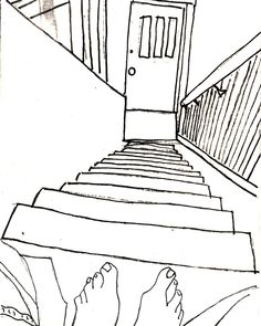 236x295 1 Point Perspective On Perspective Drawing