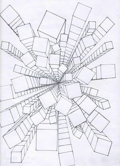 235x324 One Point Perspective Lesson Step By Step Drawing I