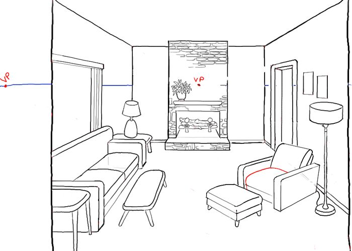 700x499 The Best Perspective Drawing Lessons Ideas