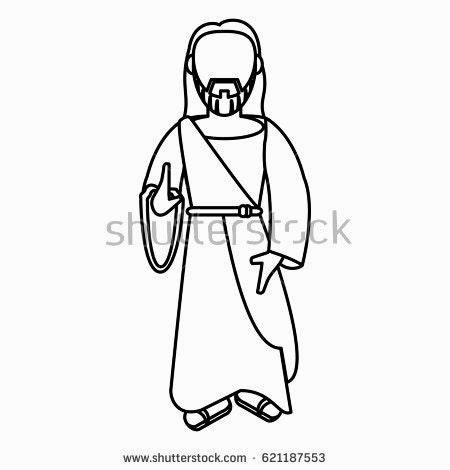 450x470 Splendid Design Inspiration Jesus Outline Christ Blessed Faith