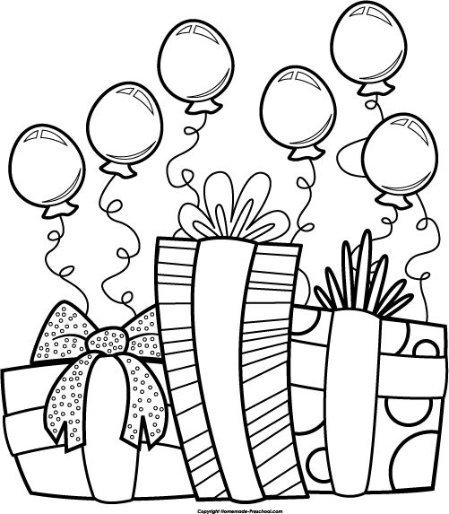 501x573 Birthday Balloons