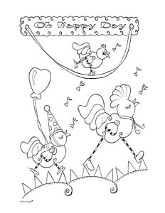 232x300 Birthday Balloons Drawings Fine Art America