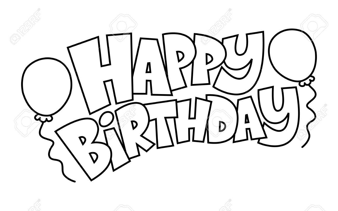 1300x812 Happy Birthday Balloons Vector Royalty Free Cliparts, Vectors,