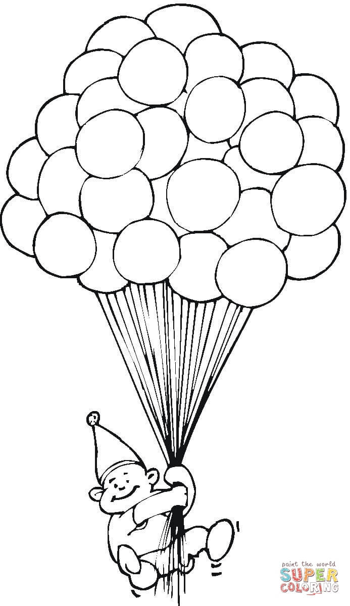 Birthday Balloon Drawing at GetDrawings.com | Free for personal use ...