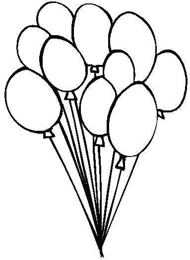 birthday balloon drawing at getdrawings com free for personal use