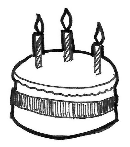 416x472 Best Photos Of Birthday Sketch Template