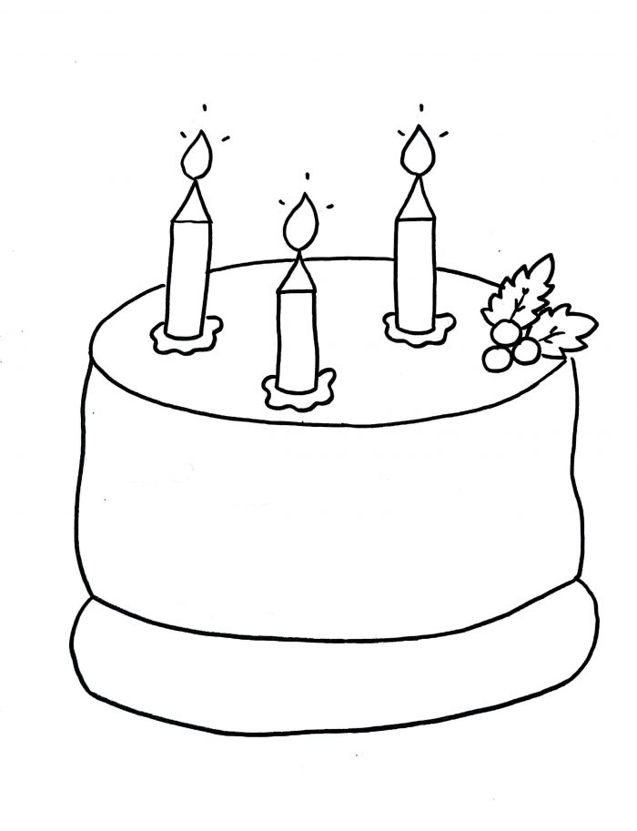 700x913 How To Draw Birthday Cake Step By Step With Images Kids Easy Drawing