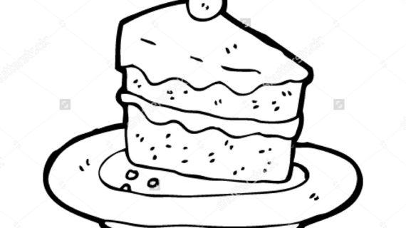 570x320 Cartoon Cake Drawing How To Draw A Cartoon Birthday Cake