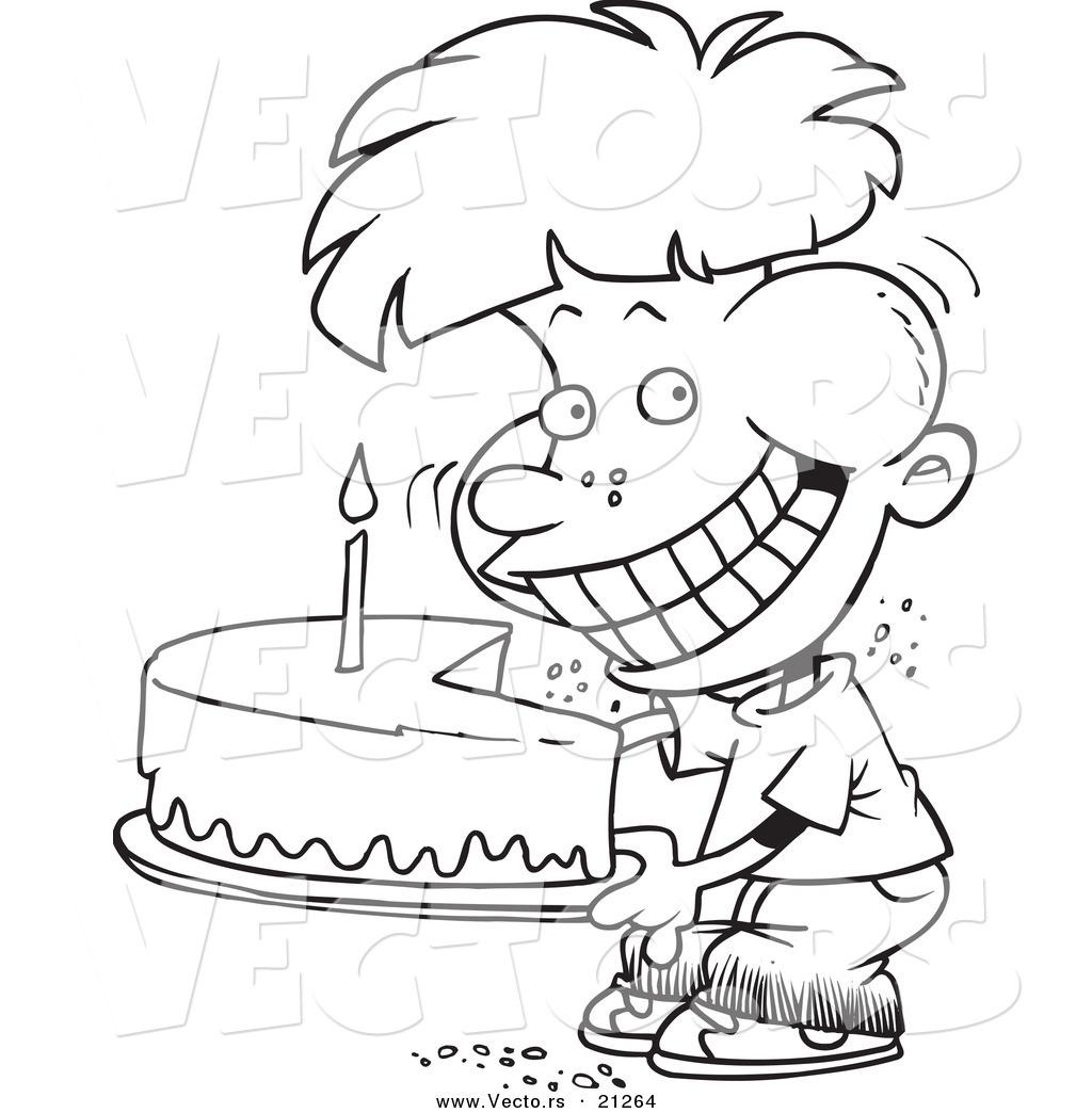 1024x1044 Enchanting Birthday Cake Cartoon Plus Spring Birthday Cake Cartoon