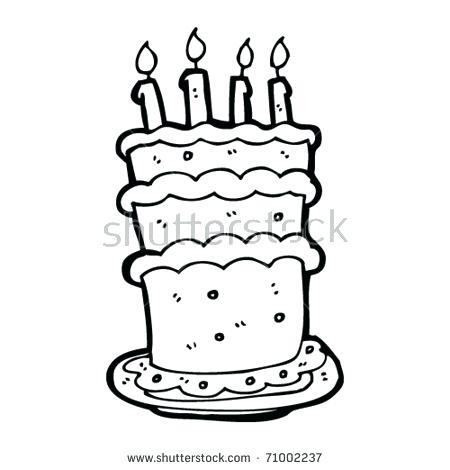 450x470 Kitchen Cabinets Birthday Cake Cartoon Stock Vector Huge