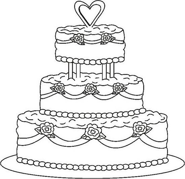640x619 Learn How To Draw Wendy Wedding Cake From Shopkins Step