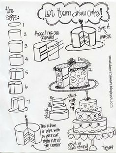 236x311 Download A Printable For How To Draw A Birthday Cake, Plus See