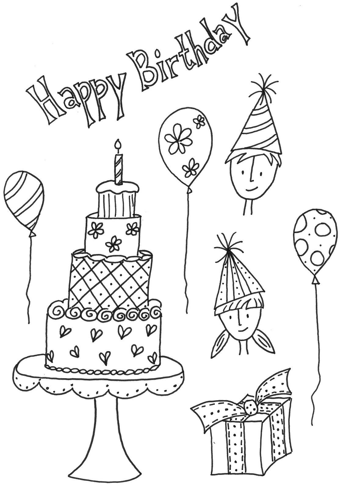 1124x1600 Happy Birthday Pencil Drawings
