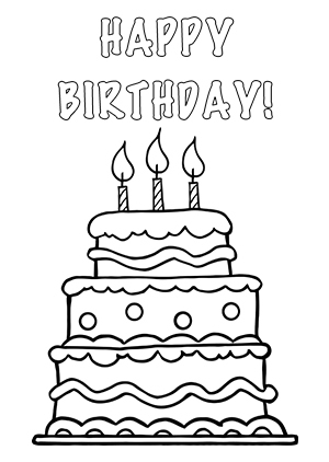 Birthday Cake Pencil Drawing At Getdrawings Free For Personal