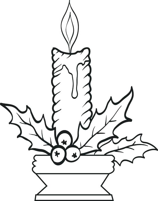 551x700 Birthday Candle Coloring Page Candle Coloring Page Candle How