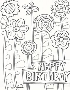 236x304 Cake Happy Birthday Party Coloring Pages Nice Coloring Pages