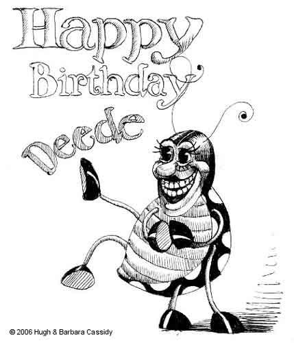 Birthday card drawing at getdrawings free for personal use 429x500 eva cassidy artwork deedee card sketch bookmarktalkfo Gallery