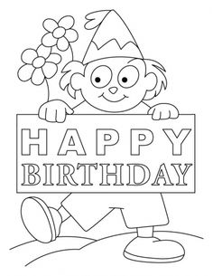 Coloring Page Greeting Cards