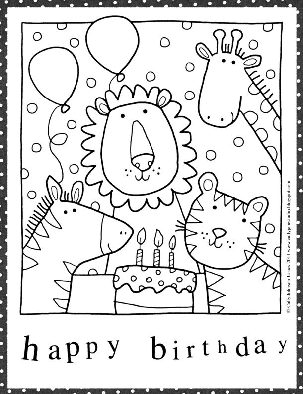 Birthday Cards Ideas Drawing at GetDrawings.com | Free for personal ...