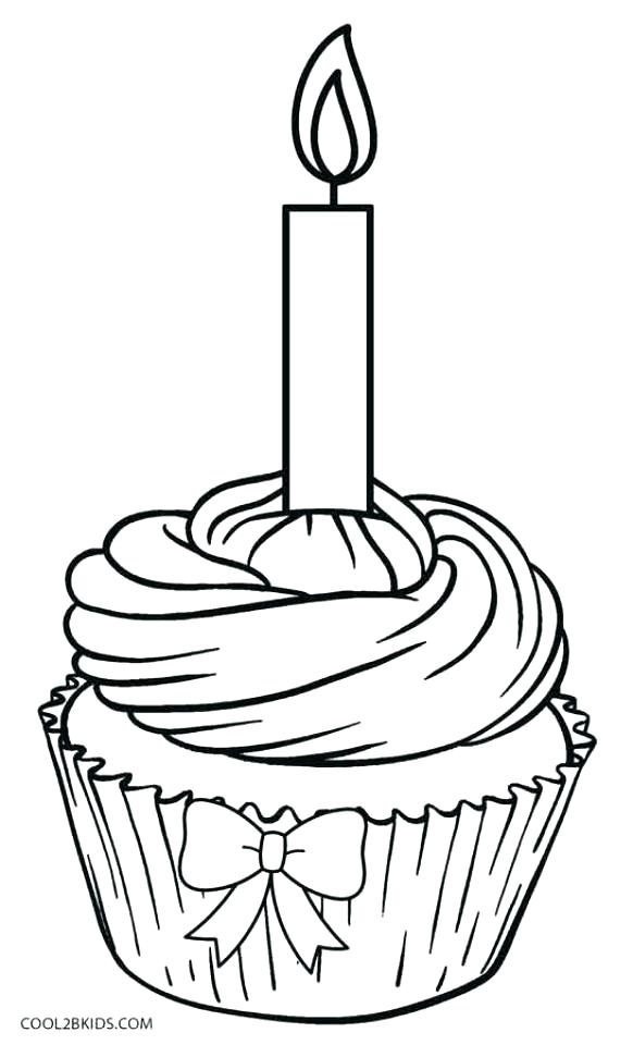 582x960 Cupcake Coloring Book Plus Cupcake Color Page Cupcake Colouring
