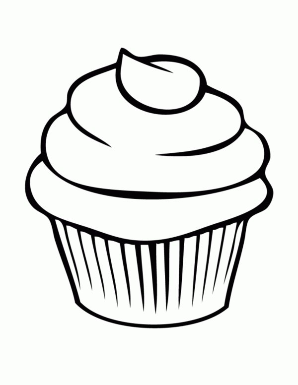 600x776 Name Tags Bread Cupcake Coloring Pages Picture 7 Cupcake Bakery