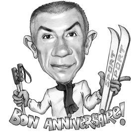 270x270 Caricature Drawings And Portraits From Photo As A Gift On Birthday