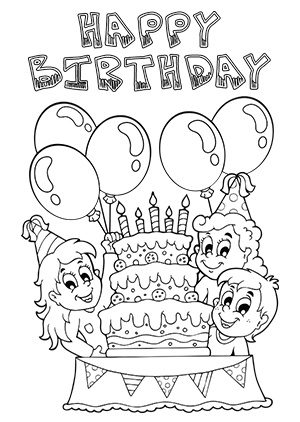 300x422 Cool And Funny Printable Happy Birthday Card And Clip Art Ideas