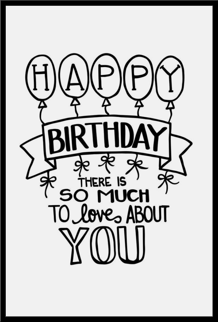 720x1061 Happy Birthday Drawing Ideas That You Just Wish To Check