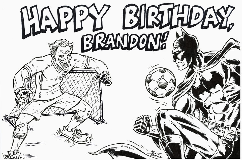 960x636 The Brillustrator Birthday Drawings!