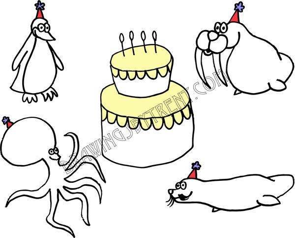 600x483 Birthday Cards Drawings By Trent