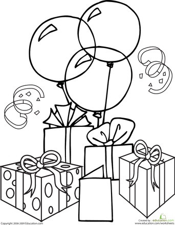 342x440 Profitable Coloring Pages For Birthdays Birthday Color Happy Sis