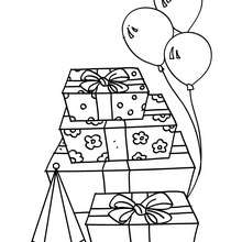 220x220 Boy Blowing His Birthday Cake Candles Coloring Pages