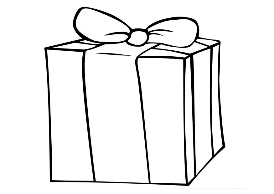875x620 Coloring Page Gift
