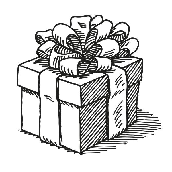 Birthday Gift Drawing At GetDrawings