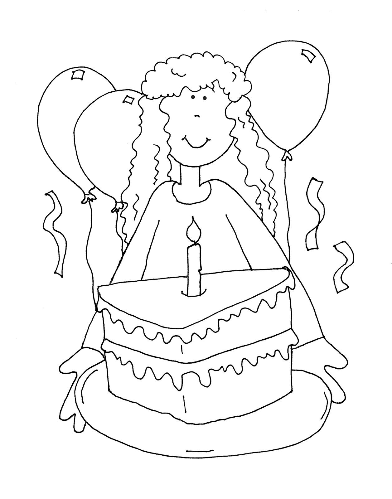 1257x1600 Free Dearie Dolls Digi Stamps Happy Birthday Girl