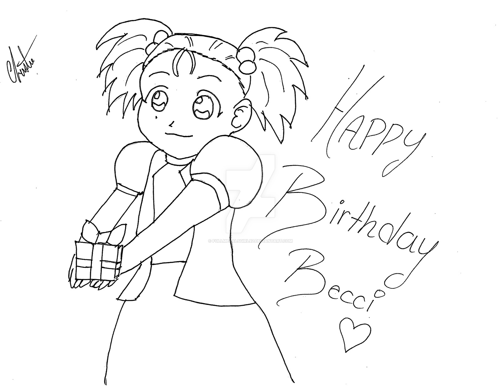 1600x1239 Happy Birthday Becci By Fullmetalsgirl92 On DeviantArt