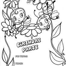 220x220 Birthday Cards Coloring Pages
