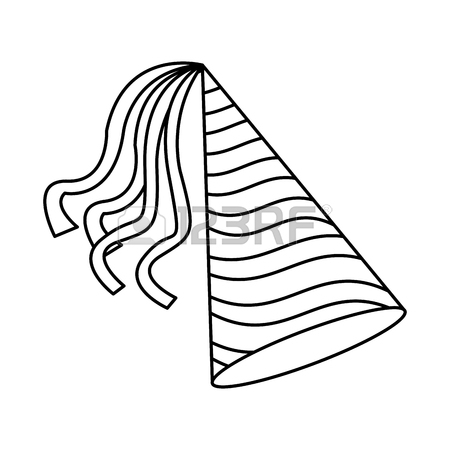 450x450 Birthday Hat Symbol Icon Vector Illustration Graphic Design
