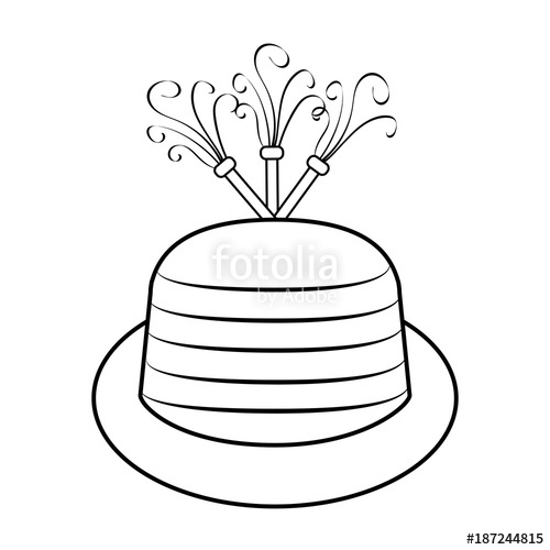 500x500 Birthday Hat Icon Stock Image And Royalty Free Vector Files