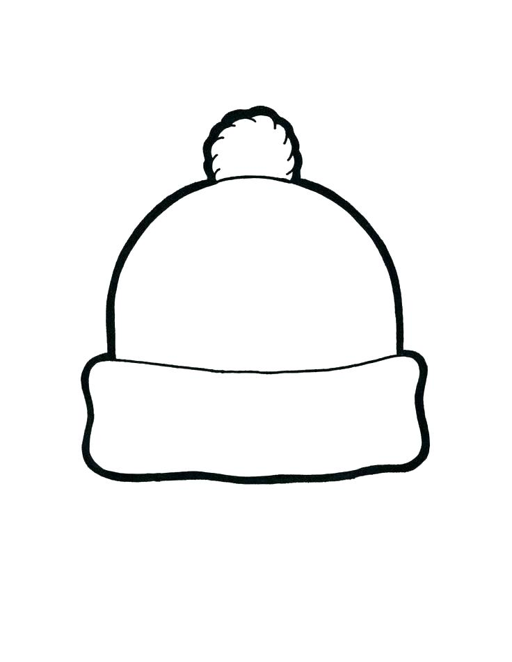 736x952 Firefighter Hat Coloring Page