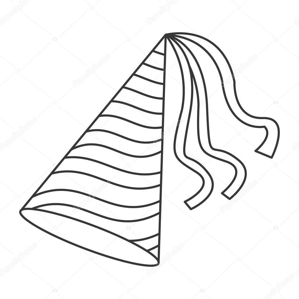 1024x1024 Party Hat Icon Stock Vector Jemastock
