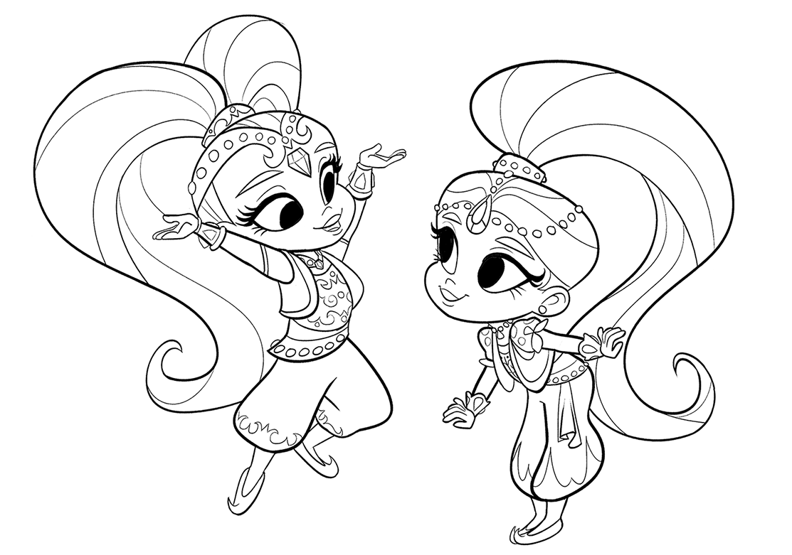 1113x781 Shimmer And Shine Premieres Today! I Got To Work On A Few Episodes