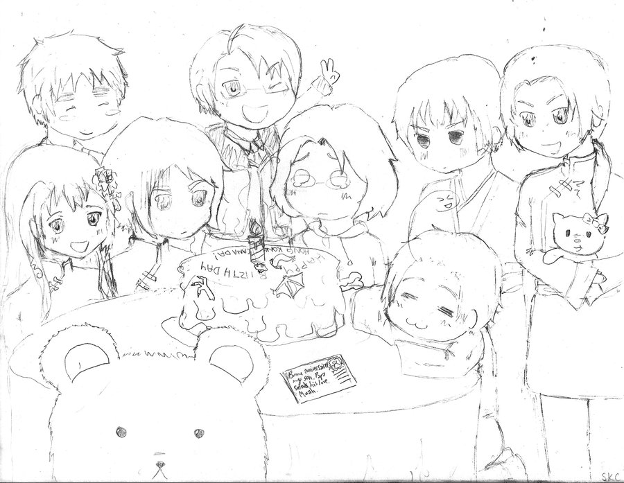 900x697 Hk canada Bday Party Sketch By Orangepumpkins