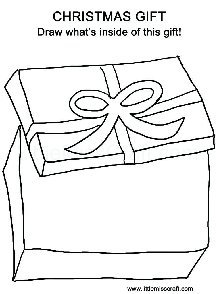 755x1024 Gifts Coloring Pages Gifts And Toys Coloring Pages Birthday Gifts