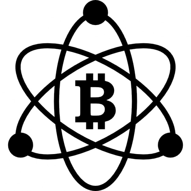 626x626 Bitcoin In Science Symbol Icons Free Download