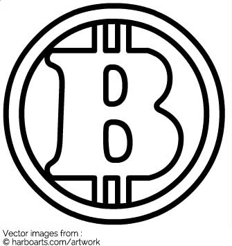 335x355 Download Bitcoin Outline
